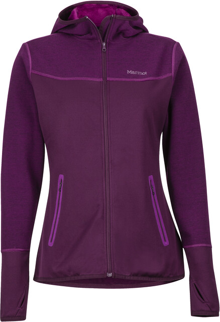 Marmot W's Sirona Hoody Dark Purple/Grape